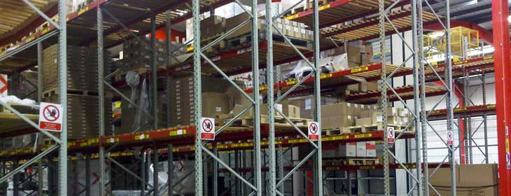 dismantle & rebuild pallet racking